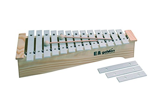 Goldon 11170 13 Plus 3-fach Sound Teller Alt-Metallophon 13 Teller