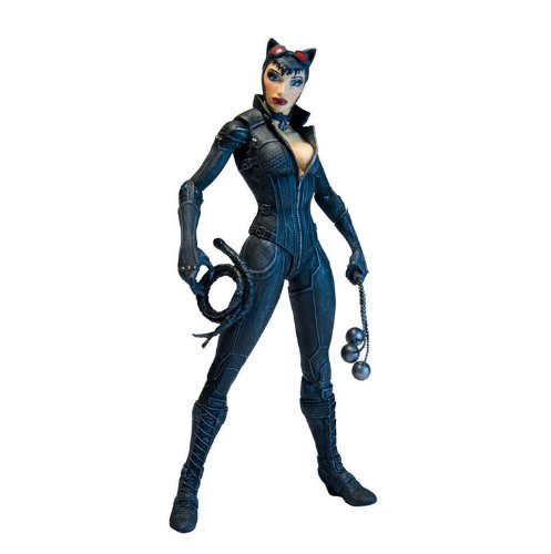 DC Direct Batman: Arkham City Series 2: Catwoman Action Figur (Batman Dc Universe Action-figuren)
