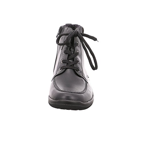 Waldläufer 312802-291001, Stivali donna Nero (nero)