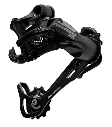 Image of Sram MTB X5 Rear Derailleur 8-9 Speed - Medium Cage, Black