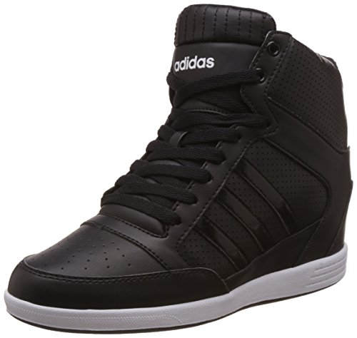 adidas Super Wedge W, Baskets femme Nero (Negbas / Ftwbla)