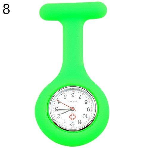 Tasche Brosche Clip Fob medizinische Krankenschwester Uhr Tasche Uhr Geschenk für Krankenhausärzte Pflege Uhr langlebig und praktisch ()