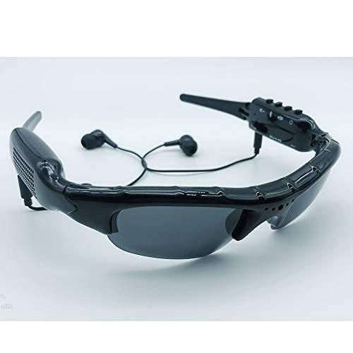 SEXTT Digitale Brille MP3-Player Mini-DV-DVR-Kamera Videobrille Fahrbrille Unterstützung von Micro-SD-Karte Sonnenbrille