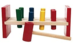 Wooden Toys Hammer Bench