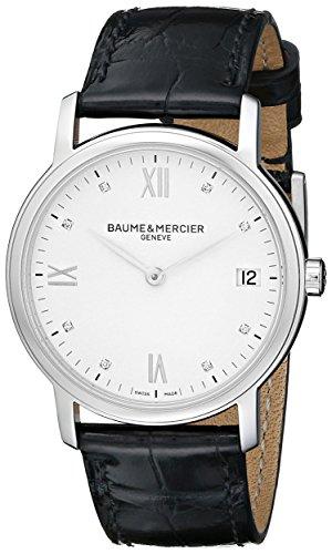 Baume&Mercier Reloj Analógico para Hombre de Cuarzo con Correa en Cuero M0A10146
