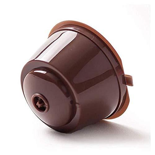 Anwaz Nachfüllbar für Nescafe Dolce Gusto Kapseln Wiederverwendbare Kapseln Filter Tasse