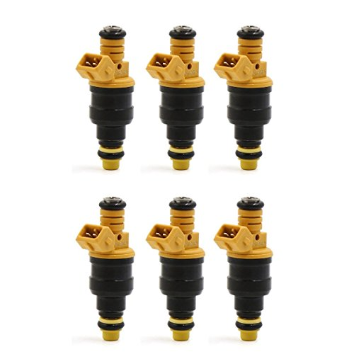 Folconroads Fuel Injector Flow s'adapter pour 1987 88 89 90 91 92 93 1994 2.8L 2.9L V6 OEM 0280150762
