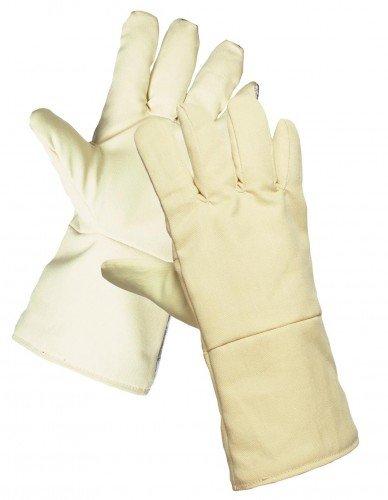 SCAUP Feuerschutzhandschuhe, 3-Schichtiger Hitzeschutzhandschuh ARAMID-Gewebe 40 cm 1