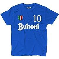 KiarenzaFD T-shirt de style maillot de football rétro de Maradona f81f91fc788ba