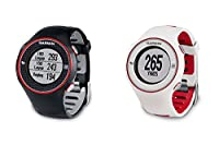 Garmin Approach S3 - Reloj con GPS para golf, color rojo / blanco de Garmin