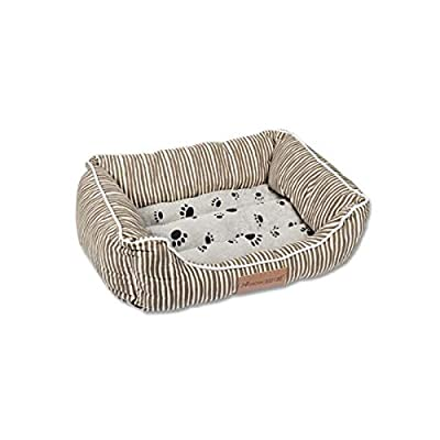 8haowenju Dog Bed,Winter Cat Kennel Long-haired Pet Nest Deep Sleep Nest Teddy Small Medium Dog Bed Comfortable and comfortable from 8haowenju