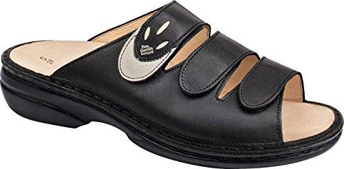Finn Comfort  Kos, sandales femmes Noir - schwarz / jasmin