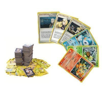 100 Assorted Pokemon Trading Cards por Pokémon