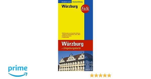 Falk Stadtplan Extra Standardfaltung Würzburg: Amazon.de: Bücher