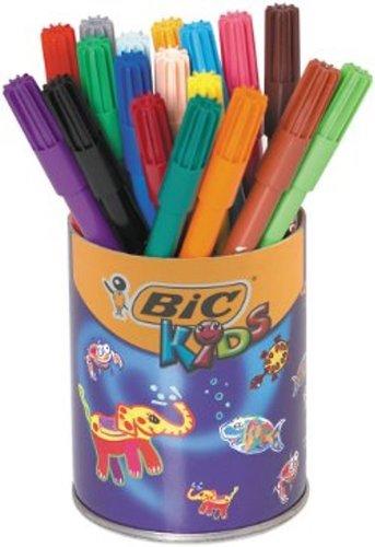 bic-kids-paquete-de-rotuladores-permanentes-en-caja-metalica-36-de-unidades-multicolor