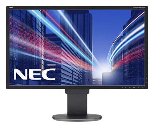 NEC MultiSync EA275WMi 68,5CM 27Zoll LCD Monitor LED Backlight IPS Panel 2560x1440 DVI-I DisplayPort HDMI DP Out Height Adjustable (Generalüberholt) Multisync Lcd-display