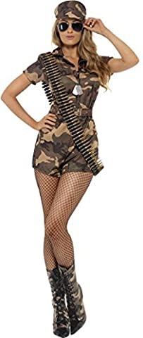 Sexy Lady Robe Adulte Fancy Party Costume Sexy Girl Armée commando pour femme