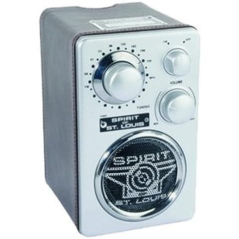 Spirit of Saint Louis, Mahoney, Radio FM, colore: Marrone/Cromo satinato