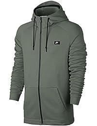 Nike Sportswear Modern French Terry Full Zip Hoodie, hombre, 805130-004, Dark Stucco, xx-large