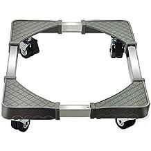 SUBBYE Lavadora Roller Trolley Lavadora Base Ajustable Multifunción Carrito Móvil Para Secadoras, Frigoríficos Y Congeladores