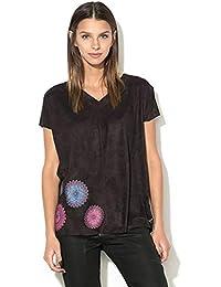 Bluse Shirt E Top Amazon T Mesi Desigual it Ultimi Donna Tre WzpYF
