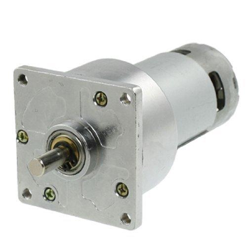 Preisvergleich Produktbild DealMux 8mm Durchmesser Abtriebswelle 24V 1,5A DC-Getriebemotor 45RPM