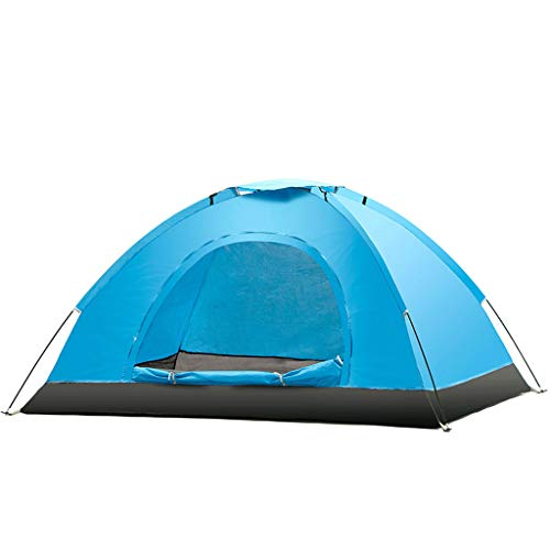 Cyl Tenda da Esterno, Tenda da Campeggio per 2-3 Persone Tenda per Lo Zaino da Campeggio Tenda Automatica Pop up istantanea per Gli Sport all'Aria Aperta