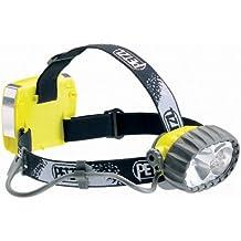 Petzl Erwachsene Stirnlampe Due LED 5, Gelb, One Size, E69 P