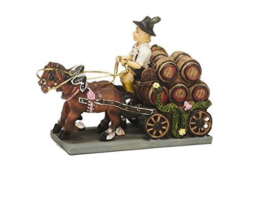 Unbekannt Sunny Toys 12662 Poly Brauerei-Kutsche circa 14 cm, 2-spännig