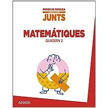 Aprendre és créixer junts 1r. Quadern de Matemàtiques 2. - 9788467846751