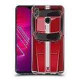 Head Case Designs Speed Rot Klassische Automobile Soft Gel Hülle für Huawei Honor View 10 Lite