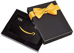 Amazon.de Geschenkkarte in Geschenkbox - 50 EUR (Alle Anlässe)