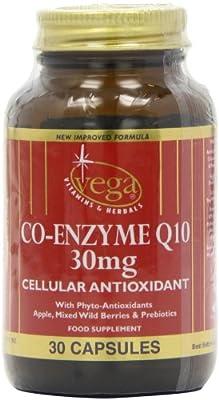 Vega Co-Enzyme Q10 30mg + Phyto-Antioxidants from Vega