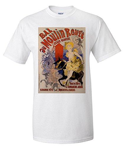 Bal au Moulin Rouge Vintage Poster (artist: Cheret) France c. 1889 (Premium...