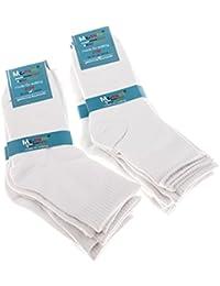 Mctam Jungen Mädchen Socken Herren Damen 12er Pack 90% Baumwolle Mix Motiv