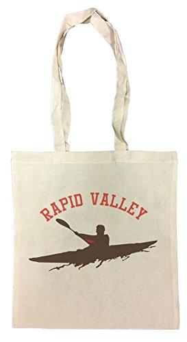 Rapid Valey Borsa Della Spesa Riutilizzabile Cotton Shopping Bag (Borsa Rapid)