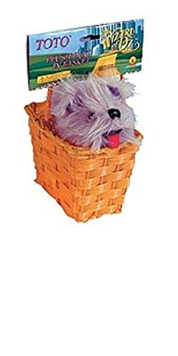 Rubie's Official Wizard of Oz Toto in a Basket