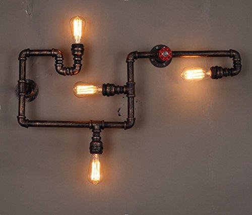 Beleuchtung Led Industrie :  Industrie Wand Lampen Dekor Wandleuchte ohne Lampen  Led Lampen