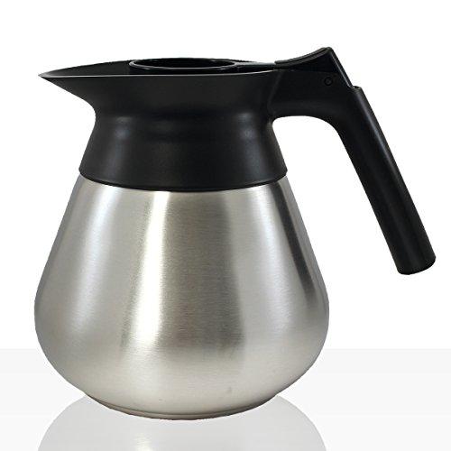 Bonamat Edelstahlkanne 1,7 l, Kaffee-Kanne für zb Mondo, Matic