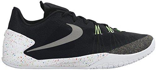Nike Hyperchase Prm, Chaussures de Sport-Basketball Homme Noir / argenté / blanc (noir / argenté métallique - blanc)