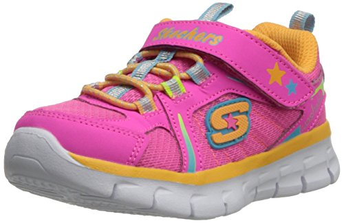 Skechers Synergy Lovespun Sneakers da Bambina, Colore Multicolore (NPMT), Taglia 23 EU (6 UK)