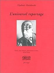 L'universel reportage