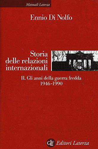 Storia delle relazioni internazionali: 2