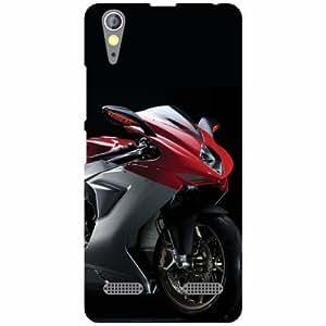 Lenovo A6000 Back cover - Beauty In Bike Designer cases