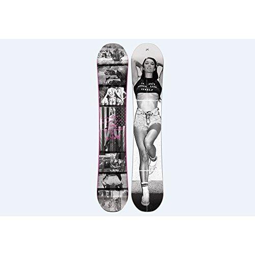 Nitro snowboards da uomo,american rouse, di colore grigio, 155