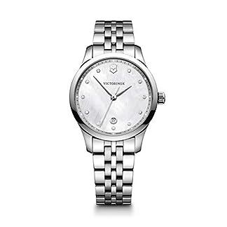 Victorinox Alliance Small Cuarzo – Reloj (Reloj de pulsera, Femenino, Acero inoxidable, Acero inoxidable, Acero inoxidable, Acero inoxidable)