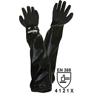 Unbekannt Griffy L+D 1485 PVC Sandstrahlerhandschuh Größe (Handschuhe): Herrengröße EN 388 CAT II 1St.