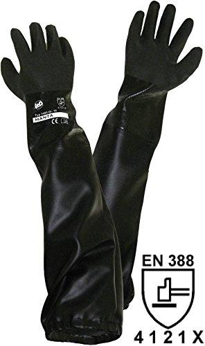 1485 PVC Sandstrahlerhandschuh Größe (Handschuhe): Herrengröße EN 388 CAT II 1St. ()
