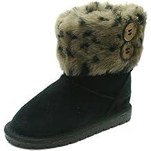 SB121 Studio BIMBI Girls Mid Calf Pull On Baby Boots in Faux Suede >> Stivaletto da Bambina a gamba media senza chiusura