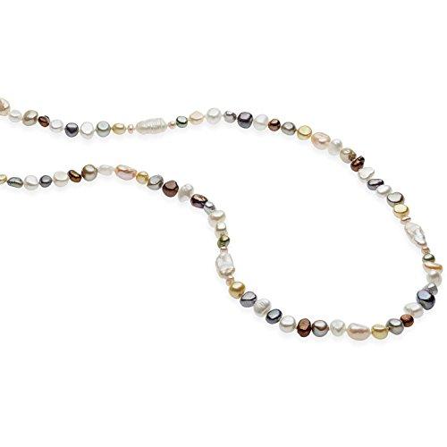 Collana donna gioielli comete fantasie di perle elegante cod. fbq 117